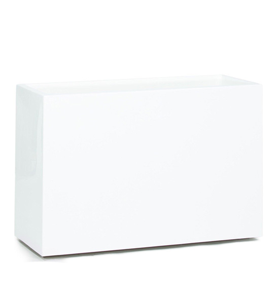 Pflanzkübel Raumteiler Fiberglas weiß | im Greenbop Online Shop kaufen