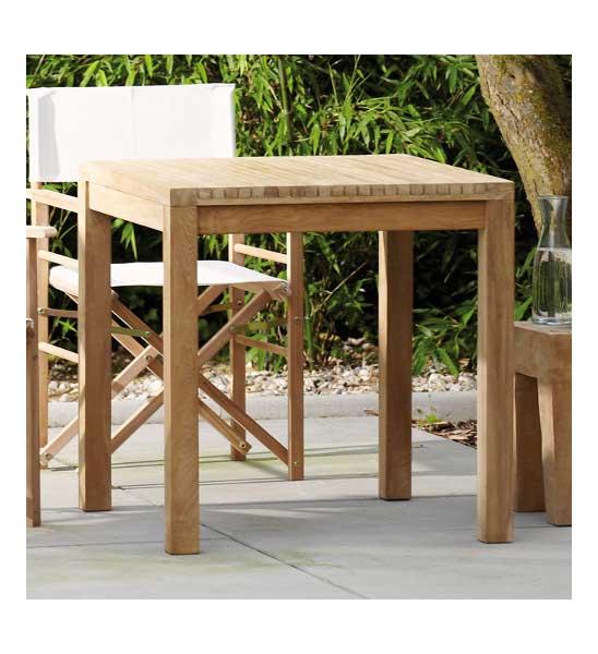 Gartentisch Teak Samoa 75120x75 Cm Im Greenbop Online Shop Kaufen