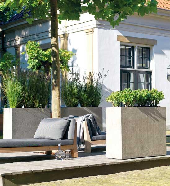 Pflanzkübel Raumteiler DIVISION Beton | im Greenbop Online Shop kaufen