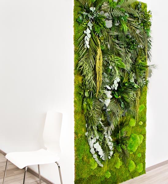 pflanzenw nde ma geschneidert im greenbop online shop kaufen. Black Bedroom Furniture Sets. Home Design Ideas