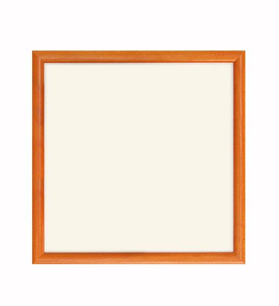 metallplatte wei quadratisch mit buntem rahmen im. Black Bedroom Furniture Sets. Home Design Ideas