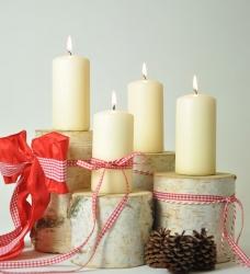 Adventskranz Birke Jingeling