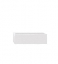 Blumenkasten weiß lang 60 x 17 x 15 cm (L/T/H)