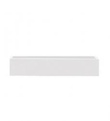 Blumenkasten weiß lang 80 x 17 x 15 cm (L/T/H)