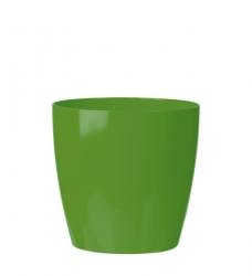 Blumentopf Kunststoff grün rund