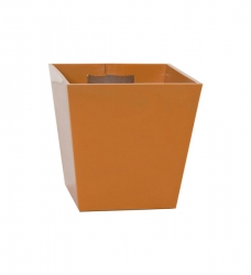 Magnetischer Blumentopf Pyramide Mittel - 6,5 cm   orange