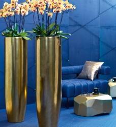 Bodenvase gold PANDORA