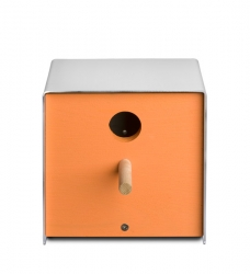 Vogelhaus orange twitter