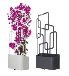 Design Pflanzkübel PARO mit Spalier