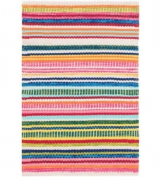 In- & Outdoor Teppich Bright Stripe bunt