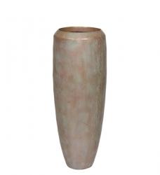 LOFT Bodenvase Metalloptik bronze