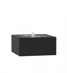 Moderner Gartenbrunnen eckig