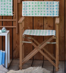 Outdoor Regiestuhl Amlapura blau