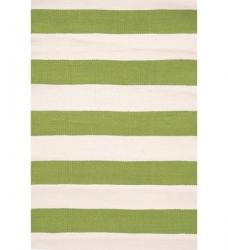 Streifen Outdoor Teppich grün 90 x 150cm