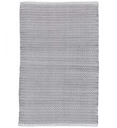 Outdoor Teppich Herringbone dunkelgrau