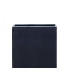 Blumenkübel lang hoch schwarz 80 x 40 x 80 cm (L/B/H)