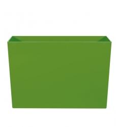 Pflanzkübel Kunststoff lang hoch grün  90x40/60cm