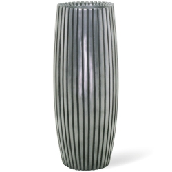 Pflanzkübel LINES silber fleur-ami 50 x 20 cm (H/Ø )