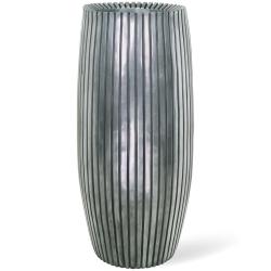 Pflanzkübel LINES silber fleur-ami 90 x 42 cm (H/Ø )