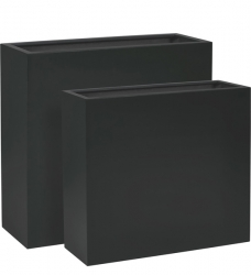 Pflanzkübel Raumteiler Kunststoff TRIBECA anthrazit
