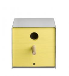Vogelhaus twitter gelb