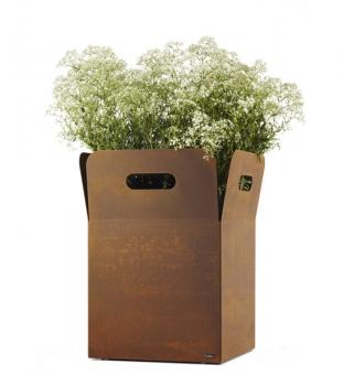 Blumenkübel Cortenstahl BOX