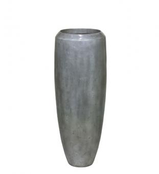 LOFT Bodenvase Metall Aluminium