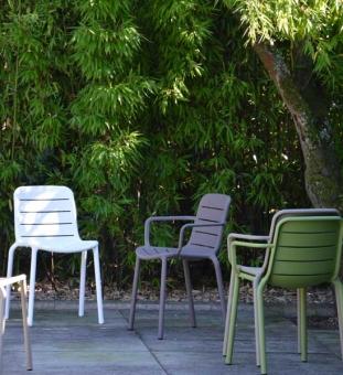 Design Gartenstühle Gina Kunststoff