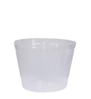 Pflanzeinsatz rund transparent Ø 35cm x 22cm hoch
