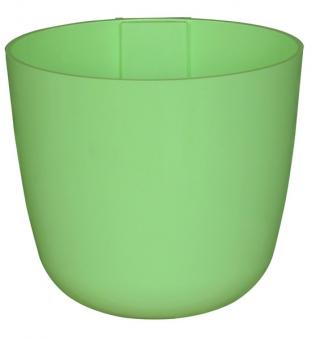 Magnetischer Pflanzentopf groß - 15 cm | limegrün