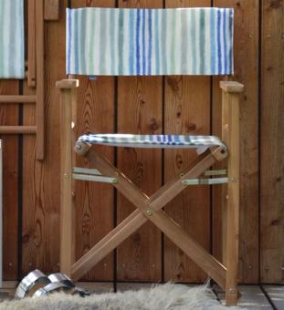 Outdoor Regiestuhl Palasari blau
