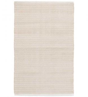 Outdoor Teppich Herringbone beige 90 x 150 cm