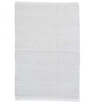 Outdoor Teppich Herringbone grau 180 x 274 cm