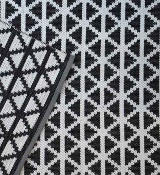 Outdoorteppich DESIGNERS GUILD delray noir
