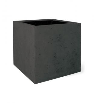 Pflanzkübel Polystone eckig anthrazit 50 x 50 x 50 (L/B/H)