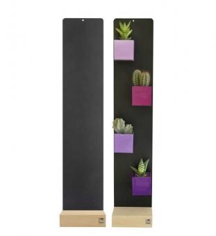 KalaMitica Standtafel anthrazit | 14 x 70 cm