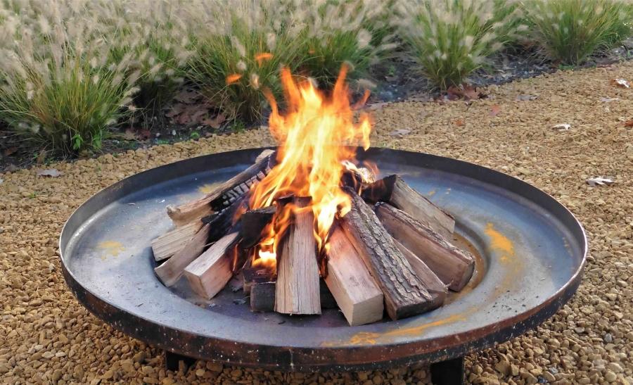 Moderne Feuerstellen
